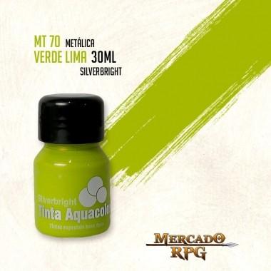Tinta Metálica - Verde Lima - RPG