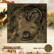 Torre de Vigia Arruinada 50x50 - RPG Battle Grid D&D