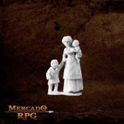 Townsfolk: Mom & Kids