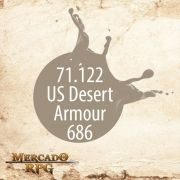 US Desert Armour 686 71.122