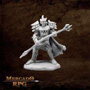 Vagorg, Half Orc Sorcerer - Miniatura RPG