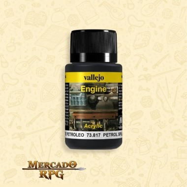 Vallejo Weathering: Engine Effects - Petrol Spills - RPG