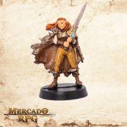 Velouria Lâmina da Vingança  - Miniatura RPG