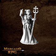 Vonsalay, Half Orc Wizard - Miniatura RPG