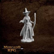 Wild West Oz Wicked Witch - Miniatura RPG