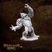 Yeti Chieftain - Miniatura RPG
