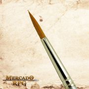 Zem Brush 2200 Golden Taklon Synthetic Round 0 - RPG