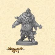 Zombie Fatty A - Miniatura RPG