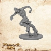 Zombie Runner A - Miniatura RPG