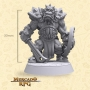 Grimmrock Orc Elite - Miniatura - RPG