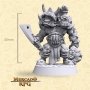 Krimp Twin Orc Elite - Miniatura - RPG