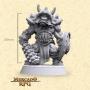 Nekrus Orc Elite - Miniatura - RPG