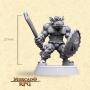 Ratbag Orc Soldier - Miniatura - RPG