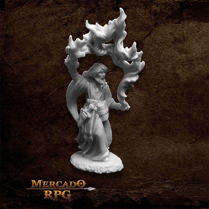 Aaron the Conjuror - Miniatura RPG  - Mercado RPG