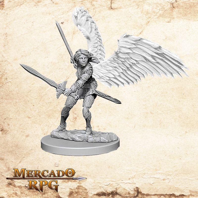 Aasimar Female Paladin A - Miniatura RPG