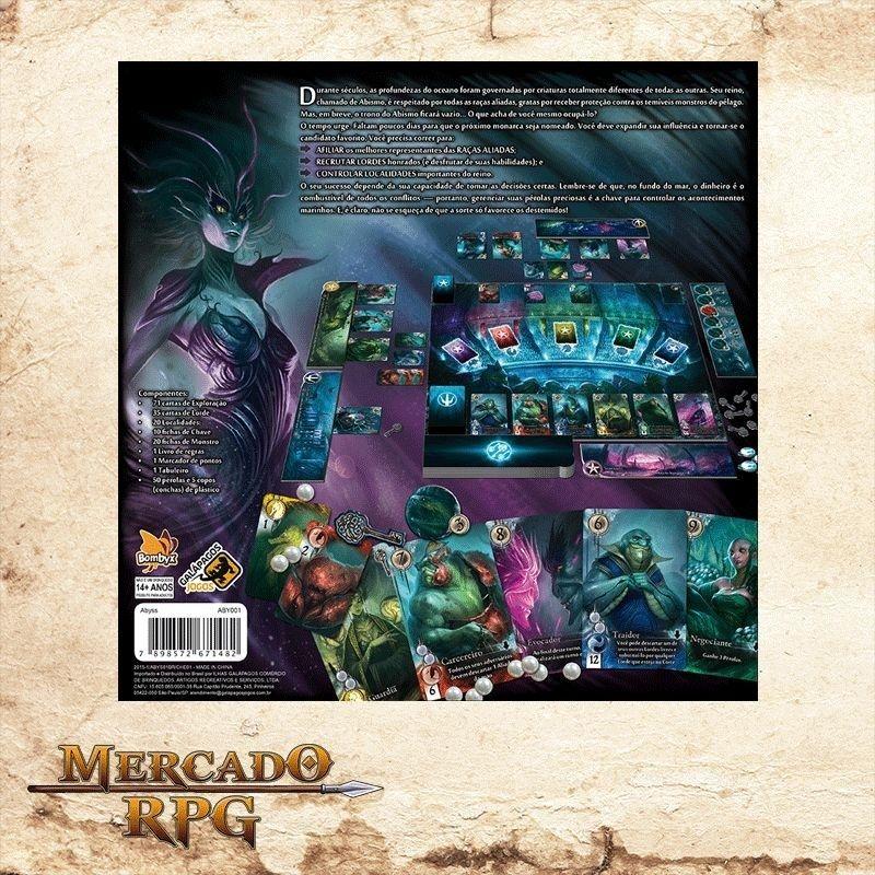 Abyss - Em Português  - Mercado RPG