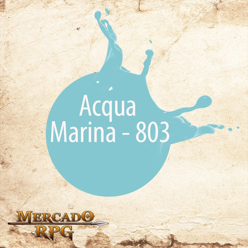 Acqua Marina - 803 - RPG - Mercado RPG