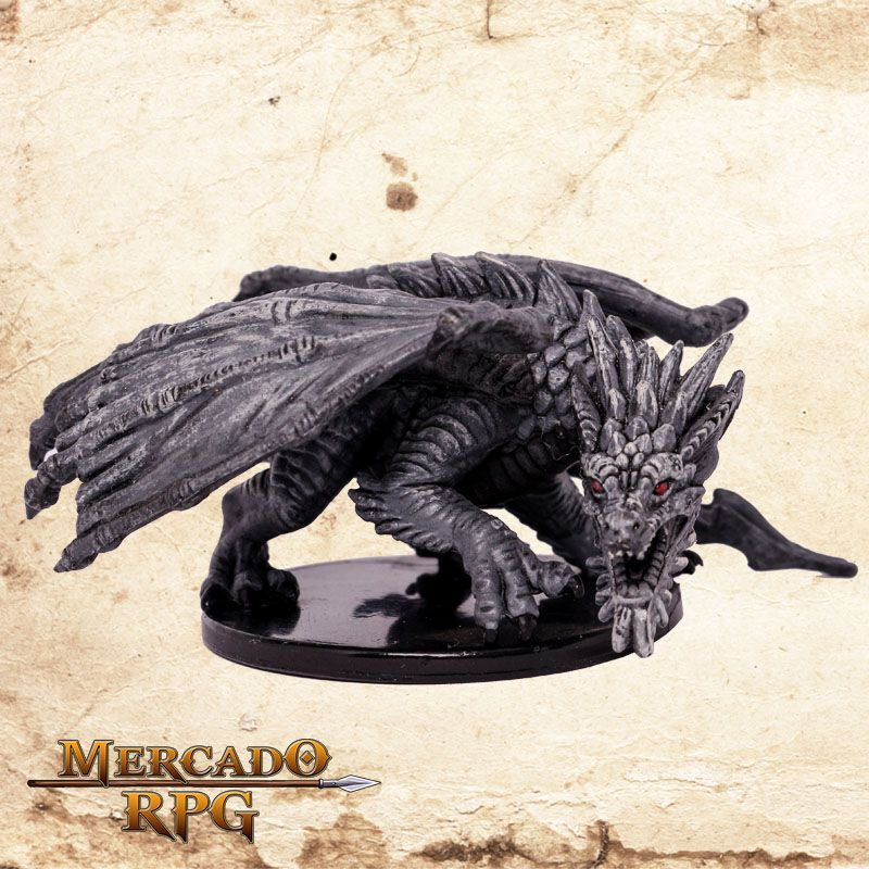 Adult Gray Dragon  - Mercado RPG