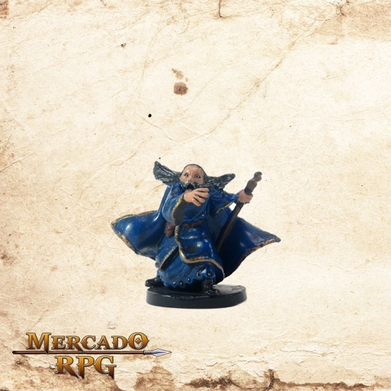 Adventuring Wizard - Com Carta  - Mercado RPG