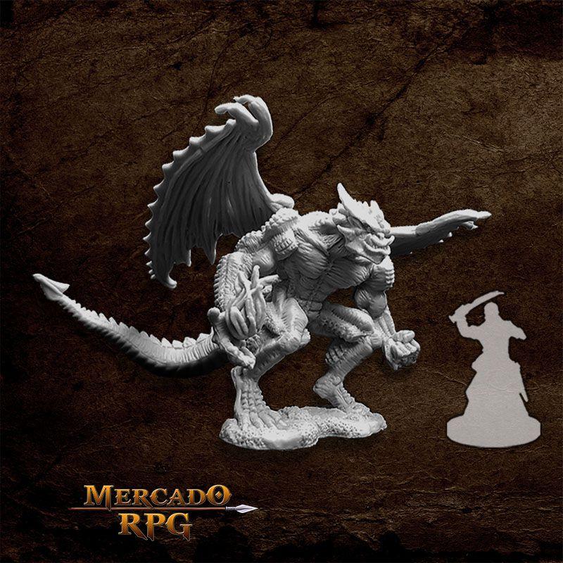 Agramon, Pit Fiend - Miniatura RPG  - Mercado RPG