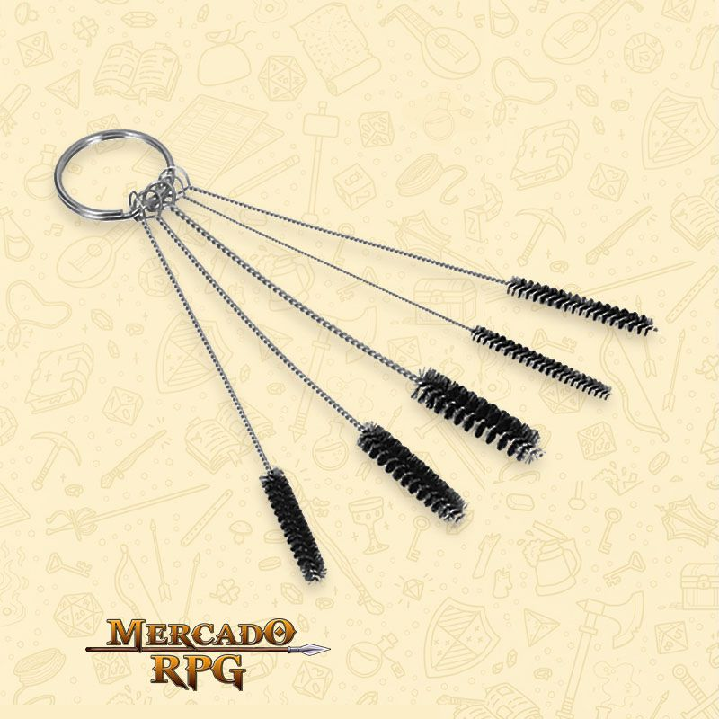 Airbrush Cleaning Brushes Set - RPG  - Mercado RPG