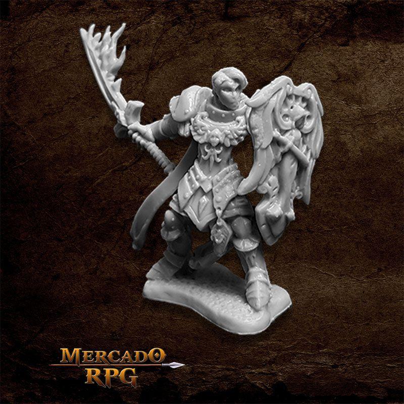 Almaran the Gold, Paladin - Miniatura RPG  - Mercado RPG