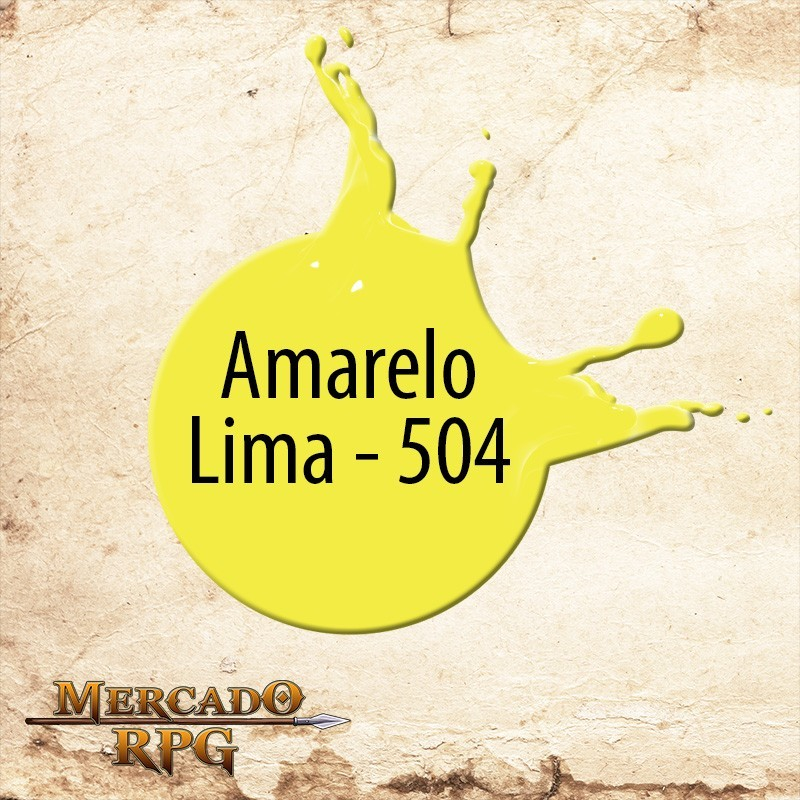 Amarelo Lima - 504 - RPG  - Mercado RPG