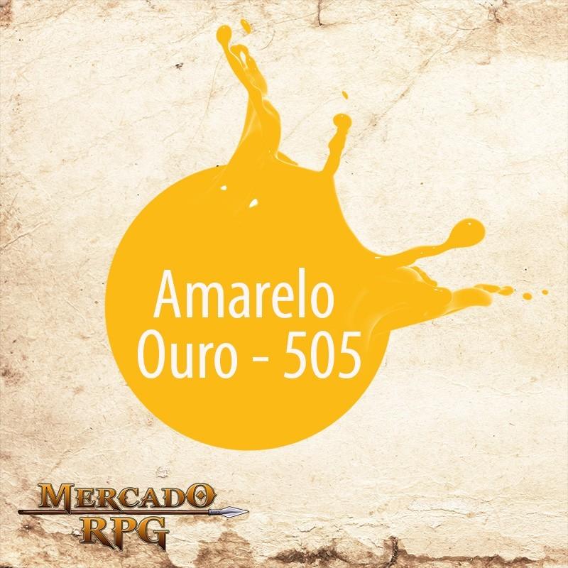 Amarelo Ouro 505 - Tinta Acrílica Fosca Nature Colors 60ml - Acrilex - RPG