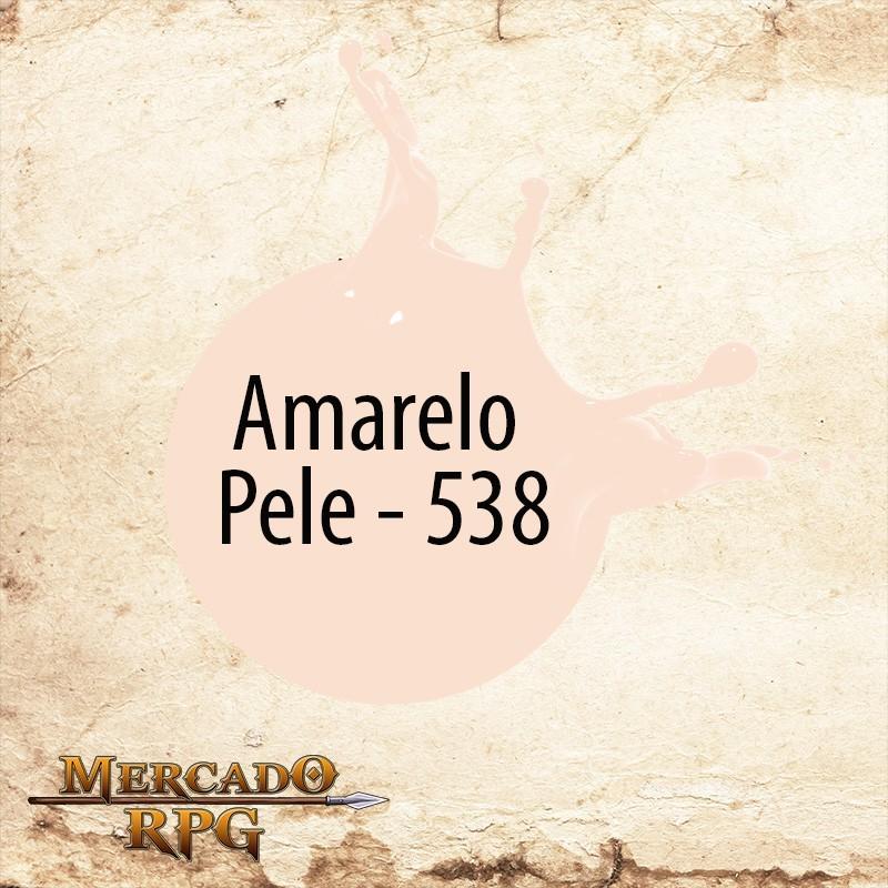 Amarelo Pele 538 - Tinta Acrílica Fosca Nature Colors 60ml - Acrilex - RPG