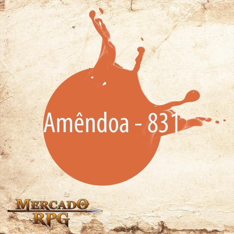 Amêndoa 831 - Tinta Acrílica Fosca Nature Colors 60ml - Acrilex - RPG