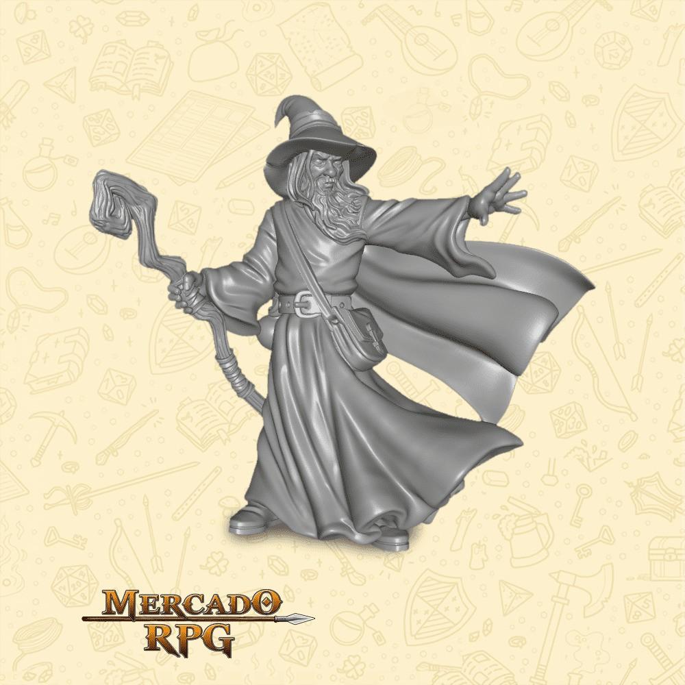 Amlund Maegon - Miniatura - RPG