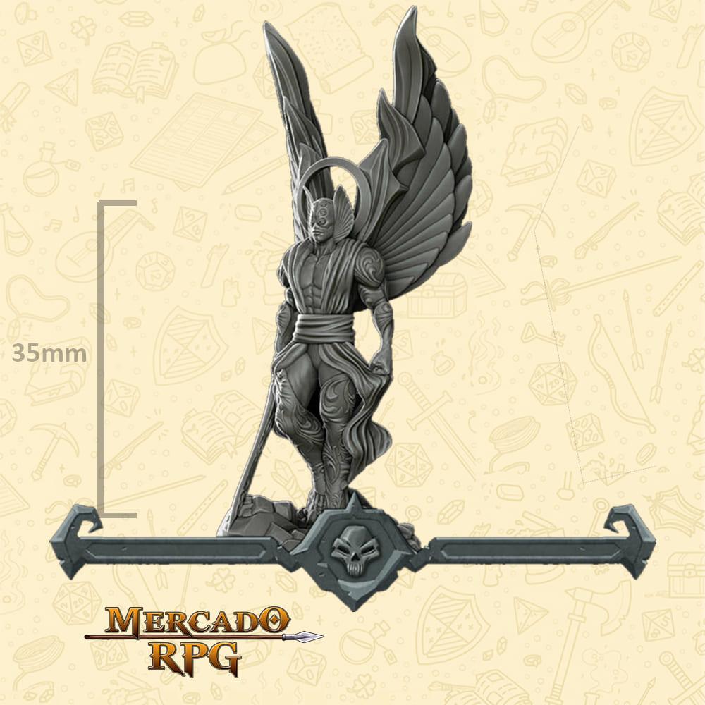 Angel Warrior - Miniatura - RPG