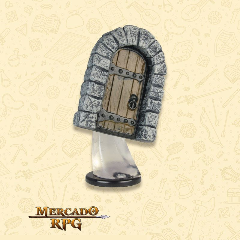 Animated Door - Miniatura RPG  - Mercado RPG