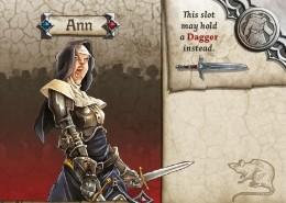 Ann - Miniatura RPG  - Mercado RPG
