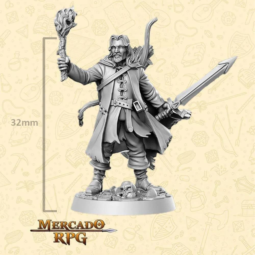 Aragorn - LOTR - Miniatura - RPG