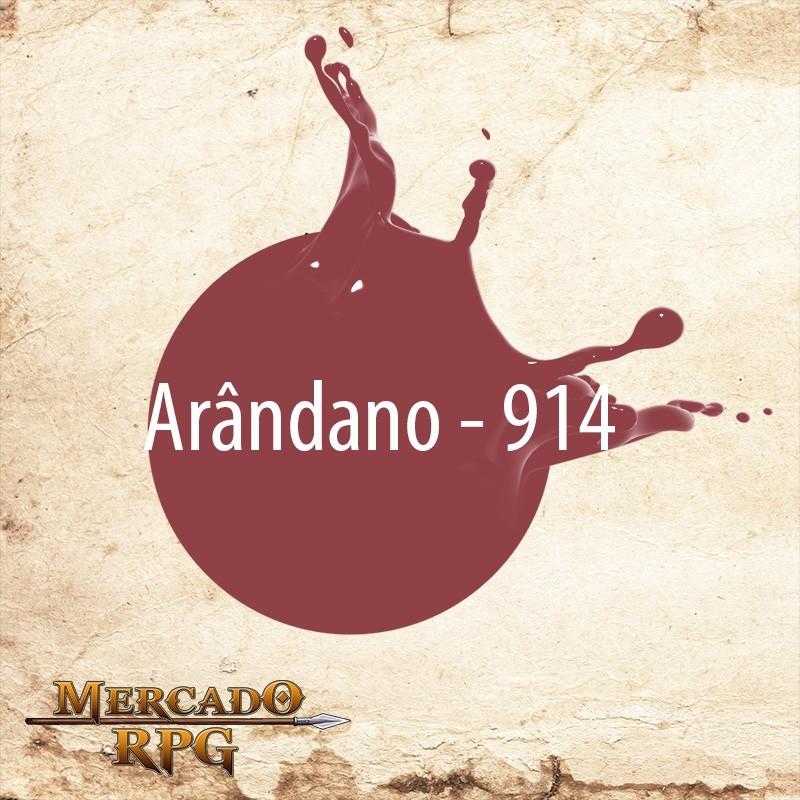 Arândano 914 - Tinta Acrílica Fosca Nature Colors 60ml - Acrilex - RPG