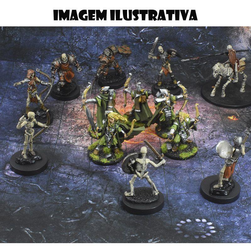 Area Selvagem C 25x25 - RPG Battle Grid D&D  - Mercado RPG