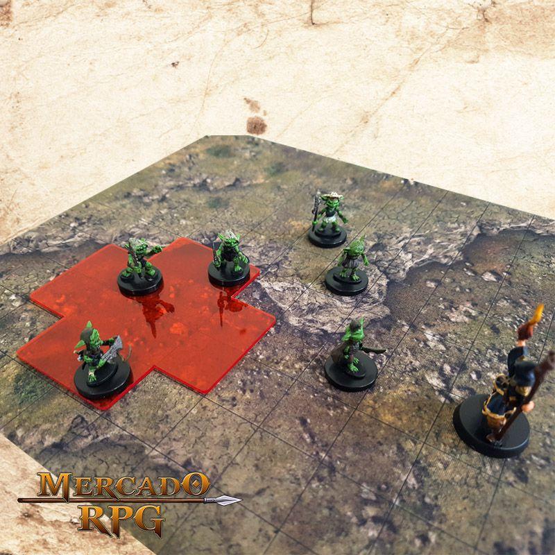 Áreas de Magias (Com Caixa / Bandeja de dados) A  - Mercado RPG