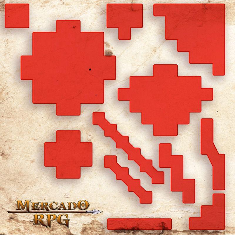 Áreas de Efeitos - Tokens de Magias A - RPG