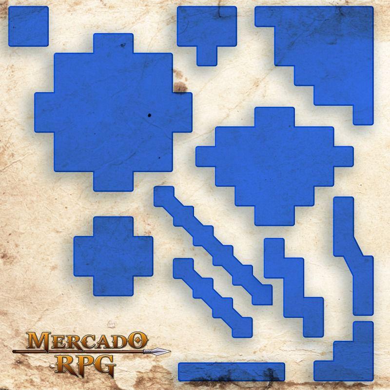 Áreas de Efeitos - Tokens de Magias B - RPG