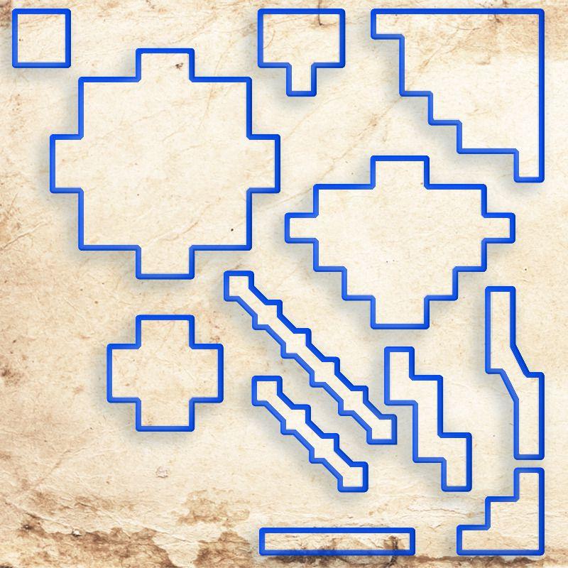 Áreas de Efeitos - Tokens de Magias D - RPG