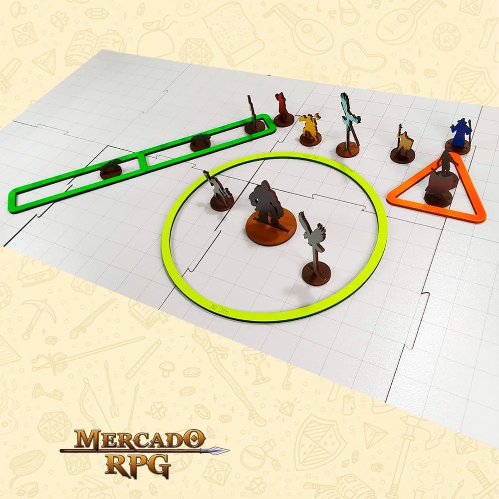 Áreas de magias (B) - MDF - RPG