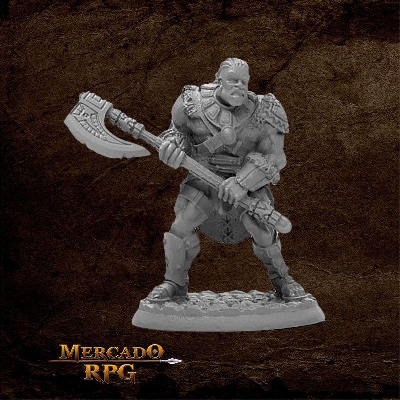 Arik Axereaver, Barbarian - Miniatura RPG