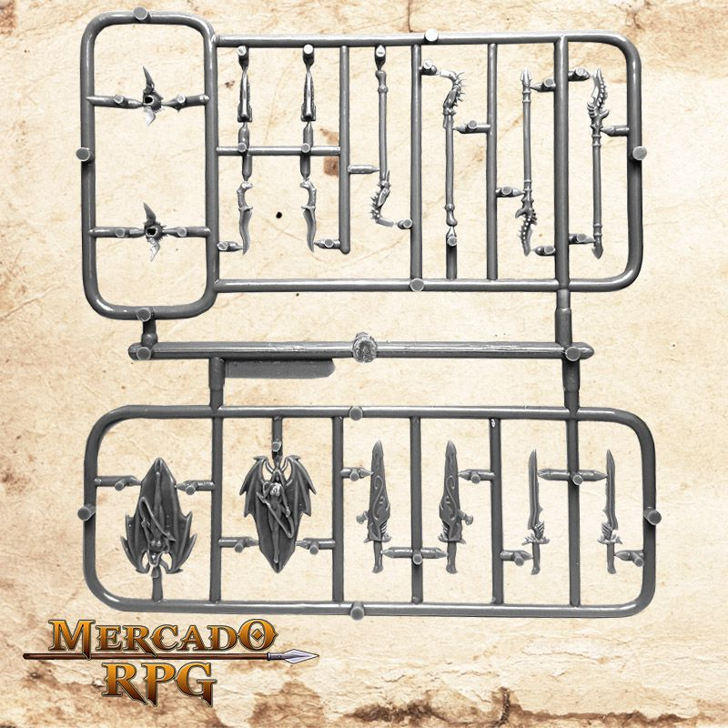 Armas Customizáveis I  - Mercado RPG