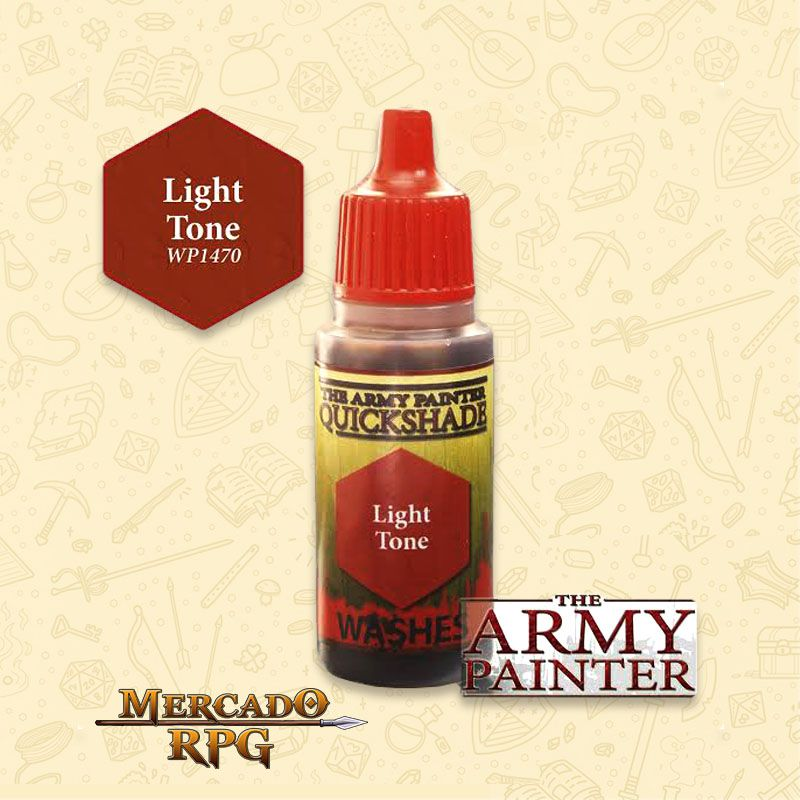Army Painter - Quickshade - Light Tone - RPG  - Mercado RPG