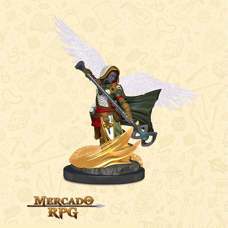 Aasimar Female Wizard - Miniatura D&D - RPG