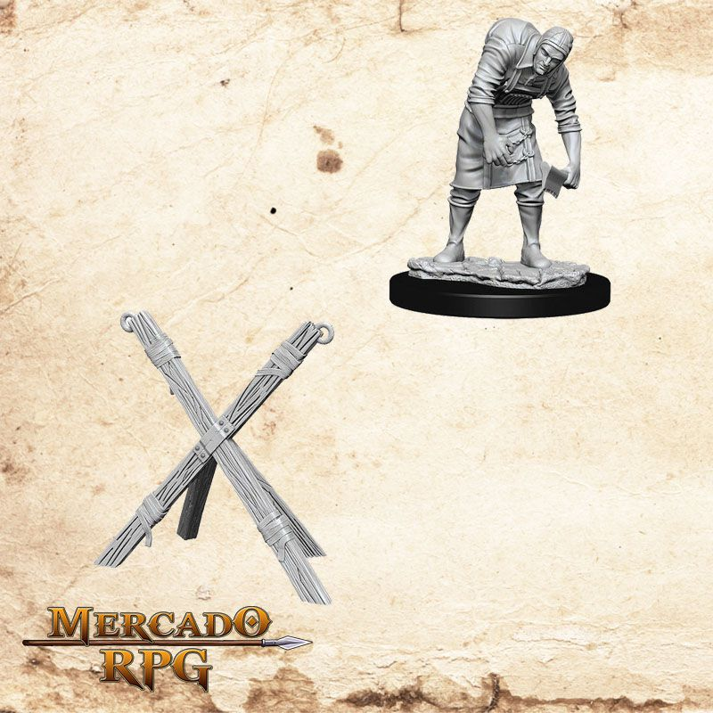 Assistant e Torturer Cross - Miniatura RPG  - Mercado RPG