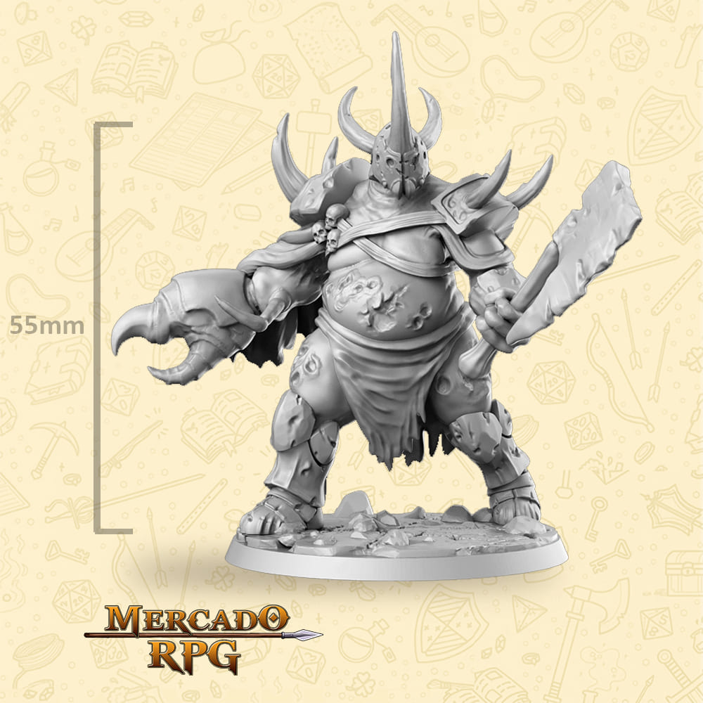 Atlas - Miniatura - RPG