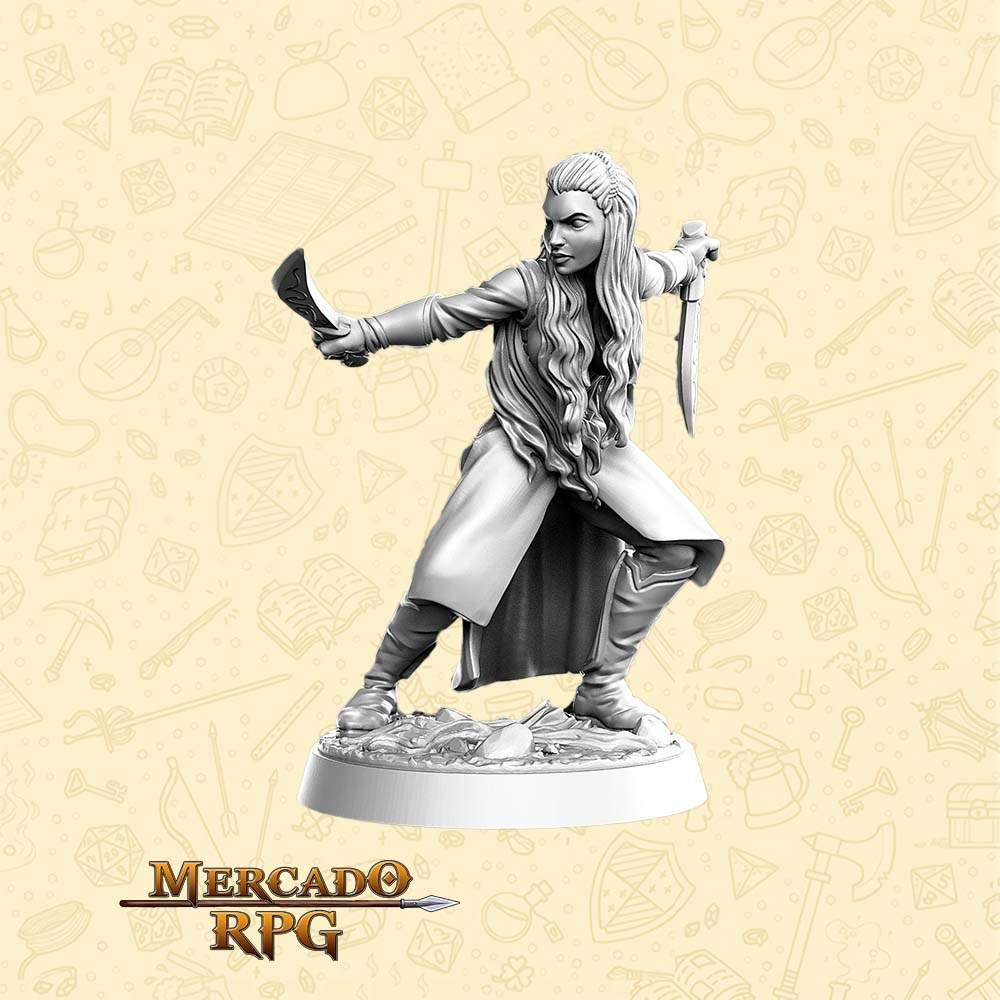 Aurielle - Miniatura - RPG