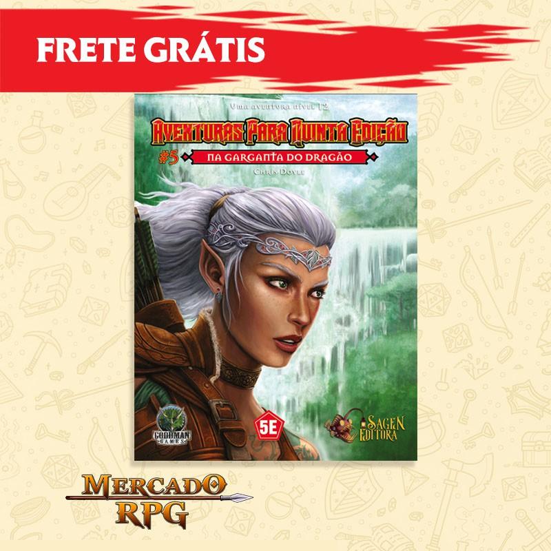 Aventuras para Quinta Edição - Nível 12 - Na Garganta do Dragão - RPG